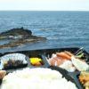 海辺の弁当!