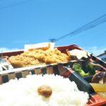 田辺の海でお弁当!