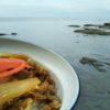 夏季恒例の爽やかな風に吹かれて海牛丼なう!