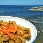 今日も海牛丼(*^^*)