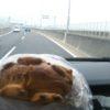 朝の美味しい焼き立てメロンパン!