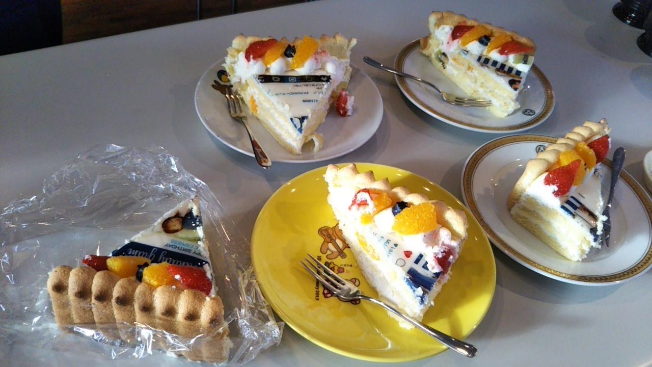今やこんなに進化!バースデーケーキ!