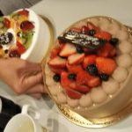 ダイビングインストラクター試験合格お祝いケーキ