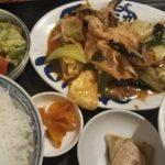 兵庫県姫路市、てんじくさんのなす味噌定食